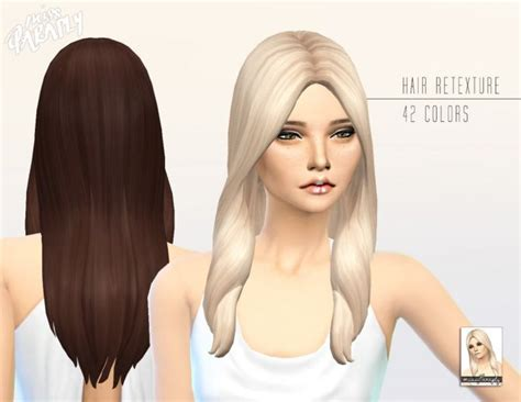 sims 4 long wavy hair without bangs 30 best images about sims 4 hairstyles on pinterest ea