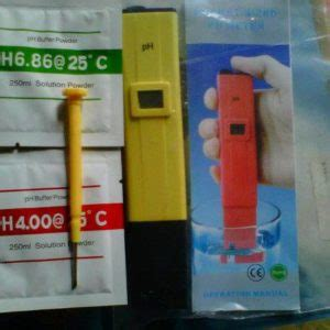 jual ph meter digital murah alat pengukur ph air ph