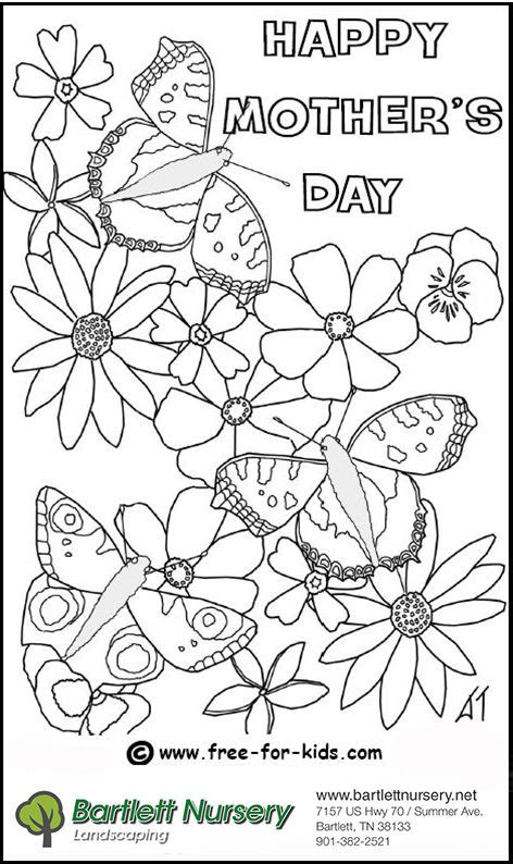 mothers day coloring s day coloring contest bartlett express