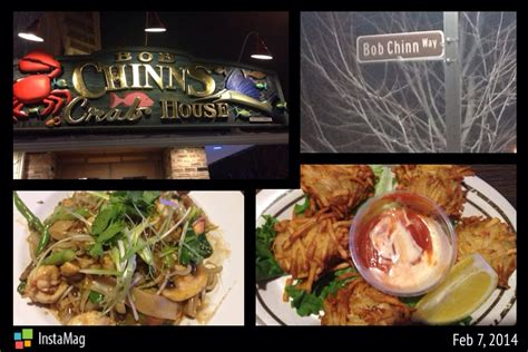 bob chinn s crab house family friendly eats bob chinn s crab house dish destination