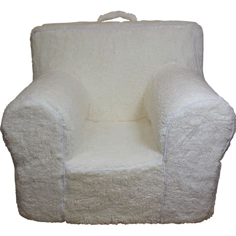 sherpa cover for pottery barn anywhere chair