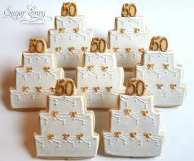 50th Wedding Anniversary Favors by 50th Wedding Anniversary Cookie Favors Flickr Photo