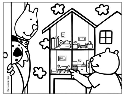 coloring page doll house coloring page of doll house to print coloring pages of