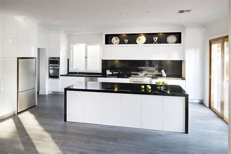 kitchens with black bench tops 10 best images about modern kitchens on pinterest