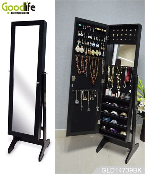 Jewelry Mirror Cabinet Length by Length Jewelry Cabinet Mirror With 3 Installing Functions