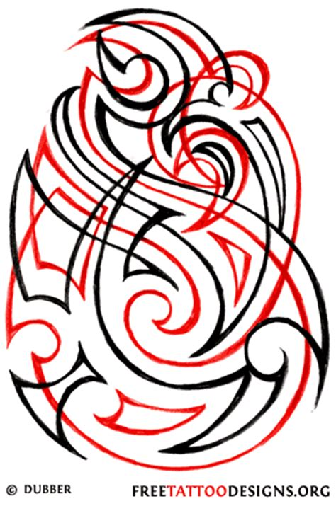red and black tribal tattoo 40 tribal designs