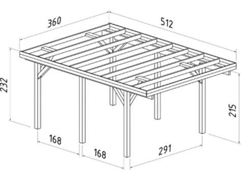 carport grundriss carport karl 11 7 m 178 gr 246 223 e 3 60 x 5 12 m