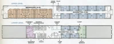 Superliner Floor Plan Amtrak Sleeper Car Layout