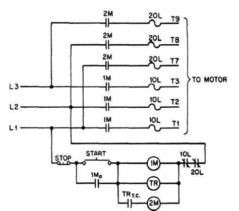 3 phase contactor wiring diagram