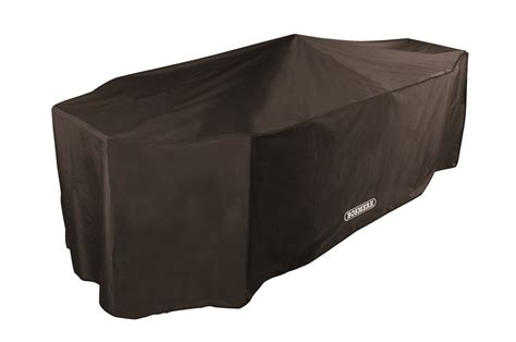 patio furniture covers uk bosmere black rectangular patio set cover 8 seat