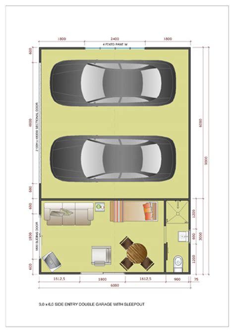 garage  sleepout single double large kitsets ideal