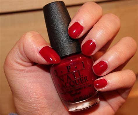 opi malaga wine nail review in my mind