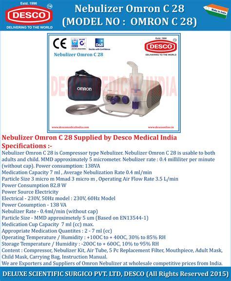 Nebulizer Omron C 28 Asli Compressor Nebulizer Alat Terapi Azma 1 nebulizer omron c 28 manufacturers suppliers exporters india