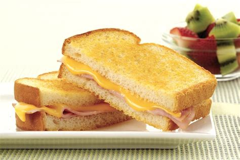 ham cheese sub sandwich grilled ham and cheese sandwich kraft recipes