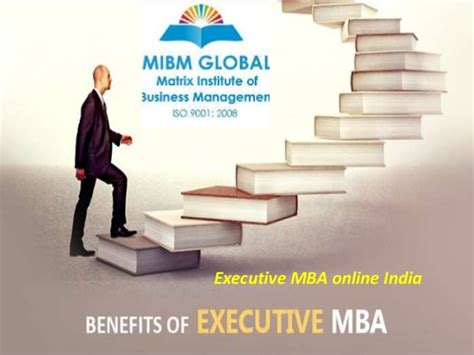 Global Executive Mba by Mibm Global Executive Mba India 969 090 0054