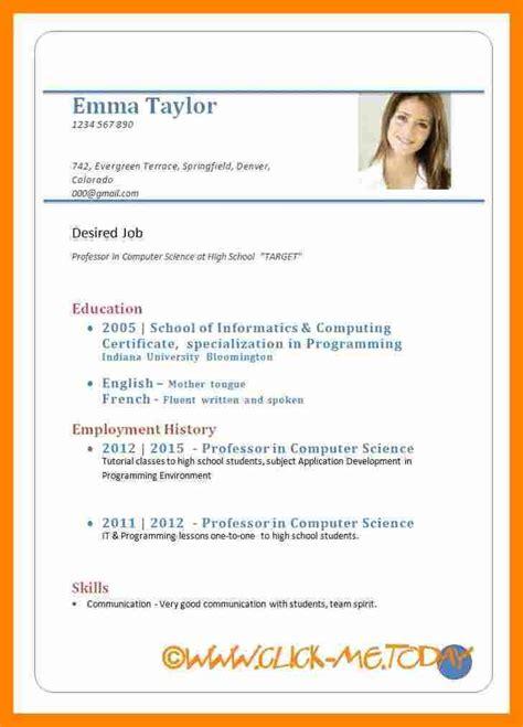 cv format download in doc 7 cv format download doc resume sections
