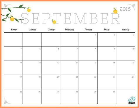 printable calendar horizontal free printable calendar 2016 09 september horizontal 1 jpg