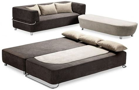 Functional 3 piece collection: sofa, bed and ottoman