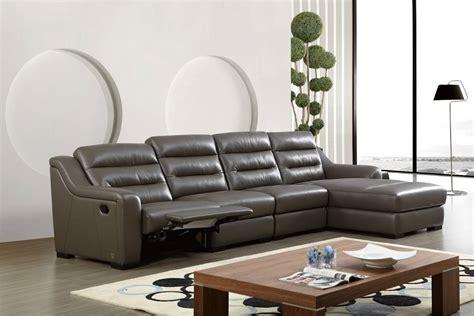 top grain leather sectional recliner top grain leather ribbed sectional sofa with recliner san