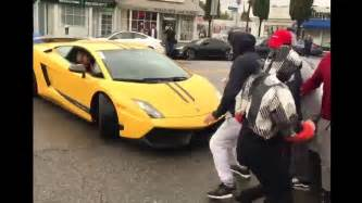 Lamborghini School Kid Drives Lamborghini To School Hits