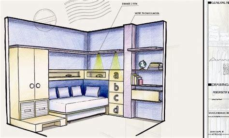 sketsa perspektif kamar anak annahape studio desain rumah desain interior arsitektur rumah