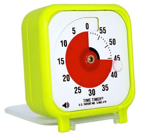 Magnetic Gray time timer pocket in colour spring edition timetimer