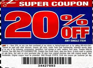20 harbor freight free printable coupon february 16 2016