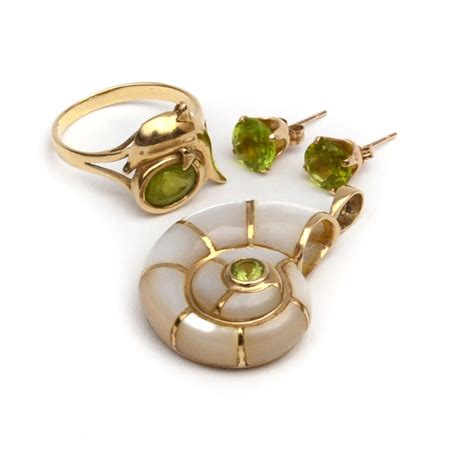 14k gold for jewelry 14k gold and peridot jewelry ebth