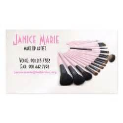 makeup artist business cards exles make up artist business card sle ii