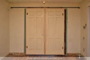 Cheap Kitchen Cabinets Houston rolling barn style doors inexpensive hardware for under 60