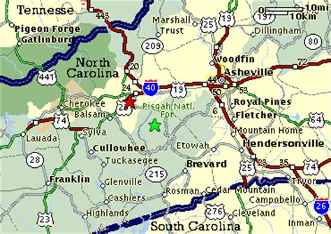 map of asheville carolina and surrounding areas surrounding area