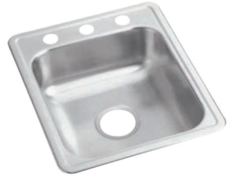 revere quality drop in self top mount sinks