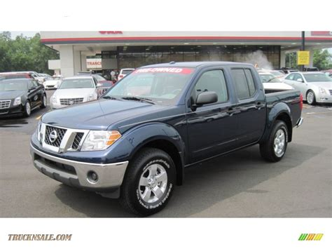 blue nissan truck 2011 nissan frontier sv crew cab 4x4 in navy blue 422411
