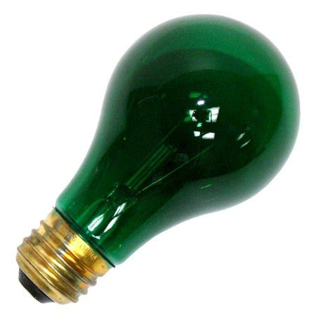 colored light bulbs halco 101152 a19grn25t standard transparent colored