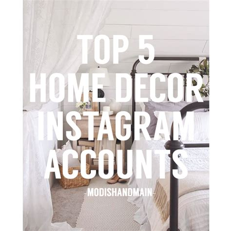 Top Home Design Instagram by 5 Home Decor Instagram Accounts To Follow Modish