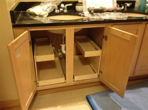 under kitchen cabinet storage ideas under sink storage kitchen cabinet ideas pinterest