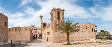 Courtyard Home Design by Bastakia Quarter Dubai Heritage Site