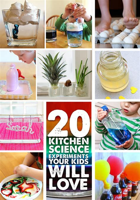 Kitchen Chemistry Experiments by Stem Activity 20 Kitchen Science Project For To Try