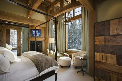 ideas decoracion habitacion rustica decoracion de dormitorios rusticos madera y piedra