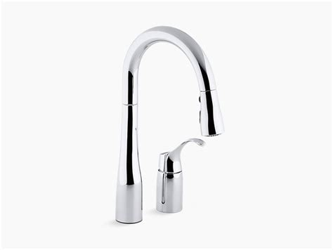 kohler kitchen sinks and faucets 2009 simplice pull down k 649 simplice single handle kitchen sink faucet kohler