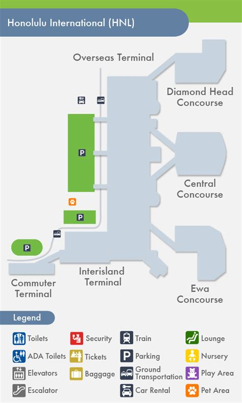 honolulu airport map related keywords suggestions for honolulu airport gate map