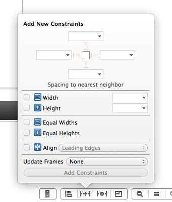 xcode update layout ios 7 xcode 5 で始める auto layout 入門 2 interface builder