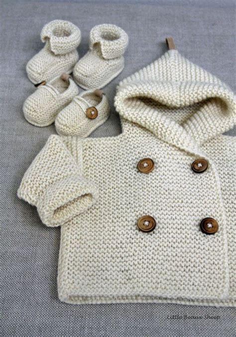 Handmade Woolen Clothes - gebreide handmade baby wollen trui vacht cardigan