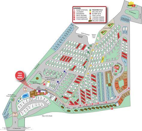 koa cgrounds usa map us map of koa cgrounds travel maps and major tourist