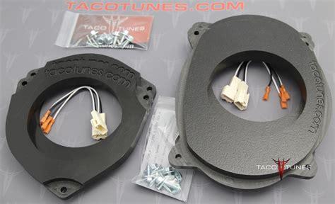 Heavy Front Door Toyota Tacoma 6 5 Quot 6 75 Quot Heavy Duty Speaker Adapter Installation Kit