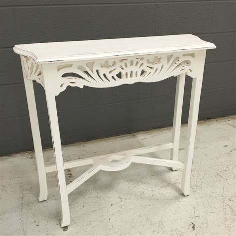 Narrow White Console Table Narrow Console Table Nadeau Nashville