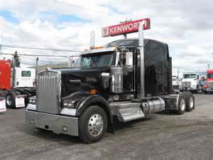 kenworth w900l 2015 sleeper semi trucks