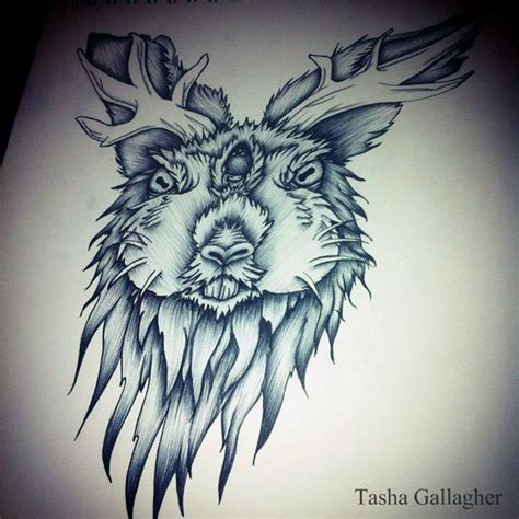 rabbit tattoo pen for sale 1000 images about jackalopes logo inspiration on