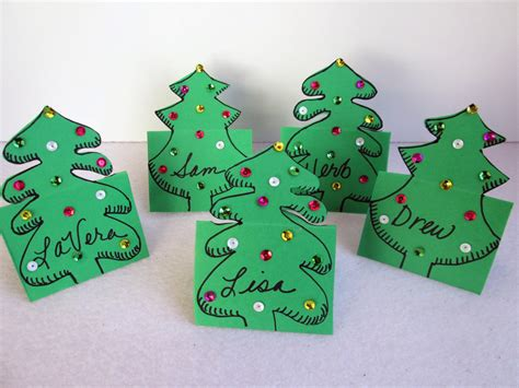 card craft tea with lavera craft place cards