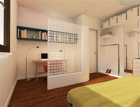 angolo studio in da letto ricavare lo studio in creando un angolo separato